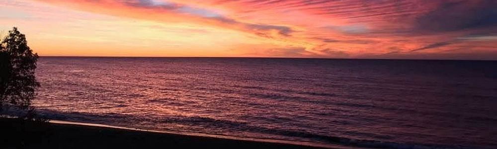 Beautiful Sunset Views at the Best Western Plus Superior Inn Grand Marais