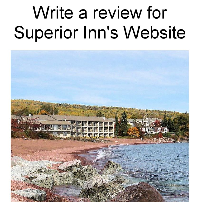 Write a Review for Superior Inn Grand Marais Website