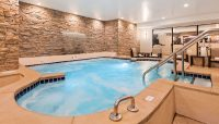 Relaxing Indoor Whirlpool - Giant Hot Tub - Superior Inn Grand Marais