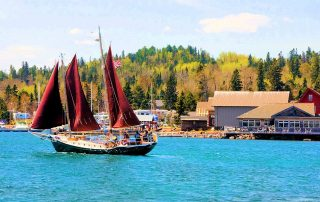 Grand Marais Hjordis Schooner Outings | Grand Marais Local Guide